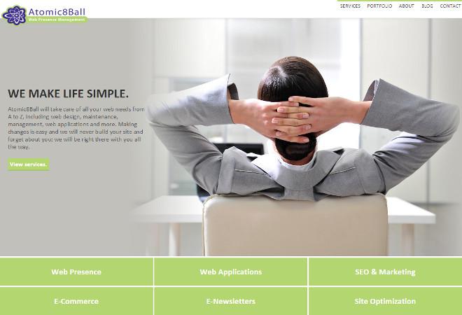 Atomic8Ball Website